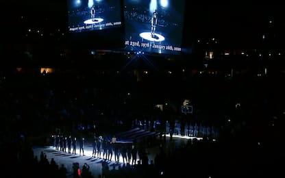 Morte Kobe Bryant: minuto di silenzio prima di Houston-Denver. VIDEO