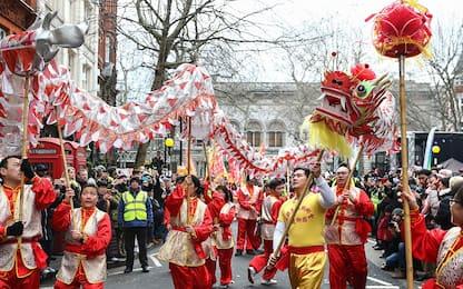 Londra, i festeggiamenti per il Capodanno cinese. FOTO