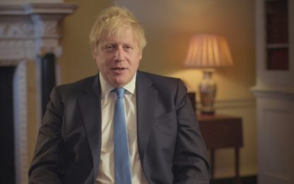 "Brexit, il discorso di Boris Johnson: ""Straordinaria speranza"". VIDEO"