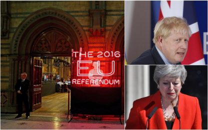 Brexit, i momenti clou dal referendum all'addio. FOTO