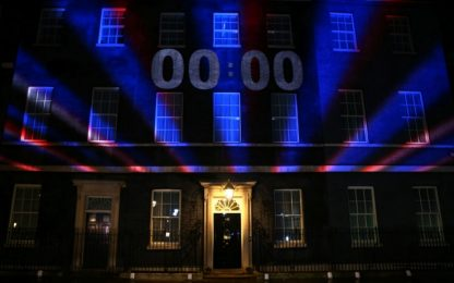 Brexit, countdown a Downing Street. Festa a Londra per l'addio all'Ue