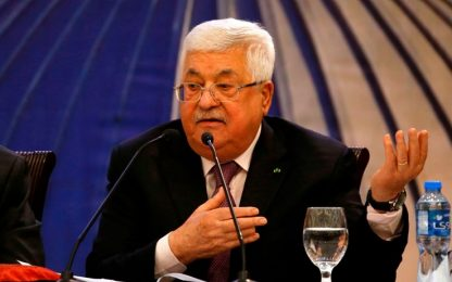 """MO, Abu Mazen: """"No annessione Gerusalemme. Stop rapporti con Israele"""""""