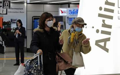 Coronavirus, a Fiumicino 400 brandine per viaggiatori cinesi