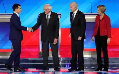 Usa 2020, dibattito dem: tutti contro Buttigieg e Sanders