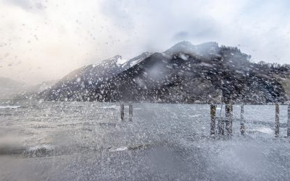 Ciara, il Nord Europa flagellato dalla tempesta. FOTO