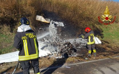 Ultraleggero precipita nel Bolognese, morto pilota 23enne