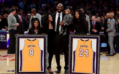 Funerali privati per Kobe e Gianna Bryant il 7 febbraio scorso