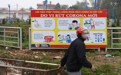 Coronavirus, in quarantena un'intera città in Vietnam. FOTO