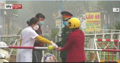 Vietnam, in quarantena un'intera città per il coronavirus. VIDEO