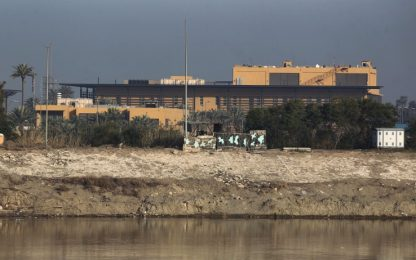Iraq, razzi vicino all'ambasciata Usa a Baghdad: nessuna vittima