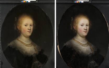 Quadro di Rembrandt scoperto in museo Usa. FOTO