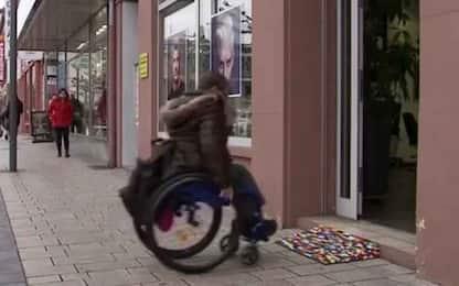 Germania, signora costruisce rampe con i Lego