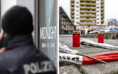 Strage di Hanau, investigatori sulla pista xenofoba. FOTO