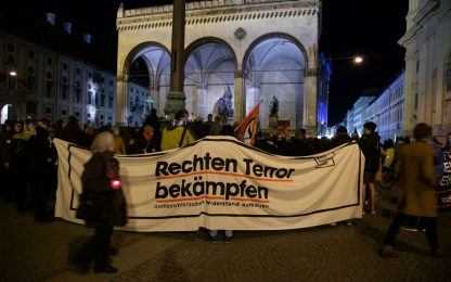 Germania, manifestazioni solidarietà per le vittime di Hanau