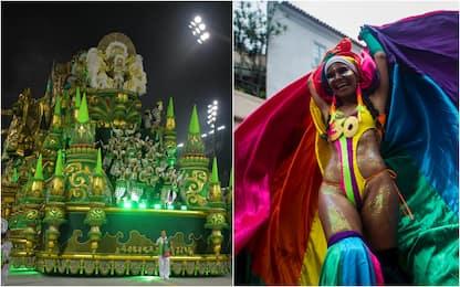 Brasile, le sfilate di Carnevale a Rio e San Paolo. FOTO
