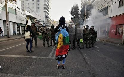Cile, scontri al festival di Vina del Mar. FOTO