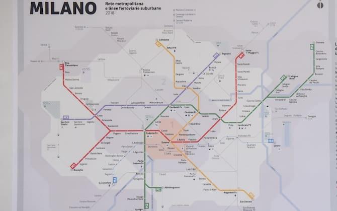 Parigi Cartina Metro.Da New York A Parigi Le Mappe Storiche Delle Metropolitane Nel Mondo Foto Sky Tg24