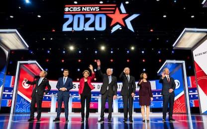 Usa 2020, dibattito tra candidati dem è un caos. Sanders sotto attacco