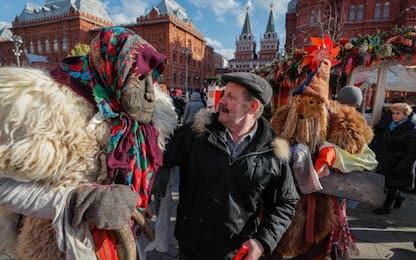 Carnevale in Russia: maschere per il Maslenitsa Festival