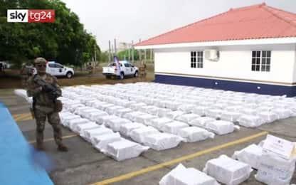 Panama, sequestrato sottomarino con 5 tonnellate di cocaina. VIDEO