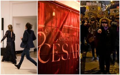 César, premio a Polanski: proteste in strada e in sala. FOTO