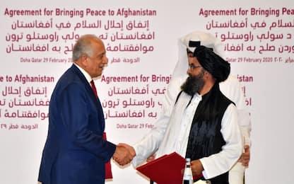 Afghanistan, accordo Usa-talebani: truppe statunitensi via in 14 mesi