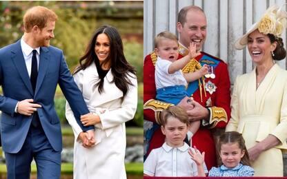 Instagram, sfida tra Harry-Meghan e William-Kate