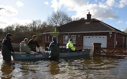 Gran Bretagna, allagamenti dopo febbraio con piogge record