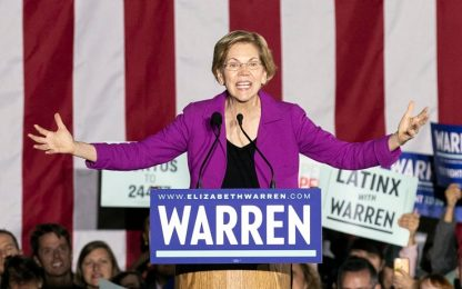 Usa 2020, Elizabeth Warren si ritira dalle primarie dem