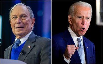Usa 2020, Bloomberg si ritira e sostiene Biden