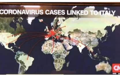 Coronavirus, mappa Cnn su Italia: polemiche. Di Maio: Distorce realtà