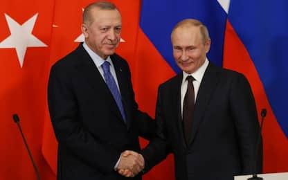 Siria, accordo tra Putin ed Erdogan per il cessate il fuoco a Idlib
