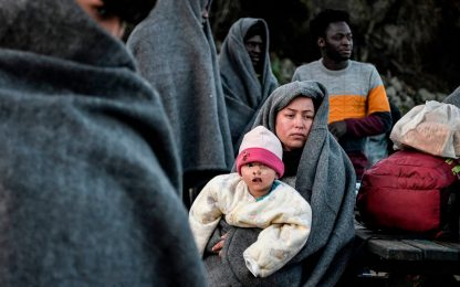 Migranti, continua l'esodo dalla Turchia alla Grecia. FOTO