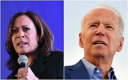 Usa 2020, Kamala Harris appoggia Joe Biden