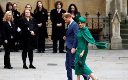 Harry e Meghan: ultimo impegno ufficiale da reali. FOTO