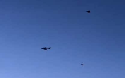 Usa, aerei da caccia russi intercettati al largo dell'Alaska. VIDEO