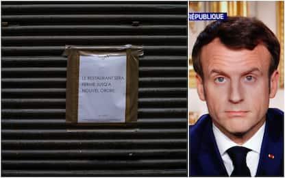 "Coronavirus Francia, Macron: ""Frontiere Ue chiuse"""