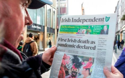 Coronavirus, ragazzi italiani positivi bloccati a Dublino