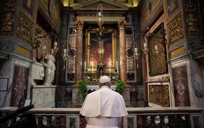 """Coronavirus, Papa Francesco: """"Non sprecate questi giorni difficili"""""""