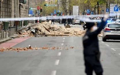 Terremoto in Croazia, scossa di magnitudo 5.4 a Zagabria, grave 15enne
