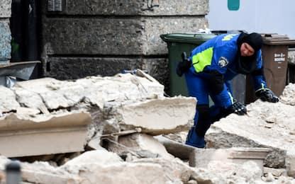 Terremoto a Zagabria, grave 15enne, danni agli edifici. FOTO