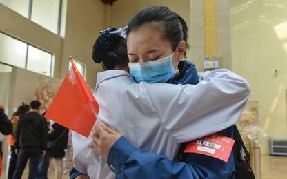 Coronavirus in Cina: fine delle restrizioni nell'Hubei. FOTO