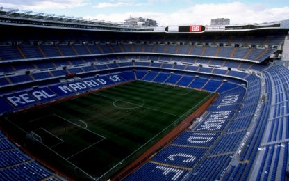 Coronavirus, Real Madrid trasforma Bernabeu in un deposito sanitario