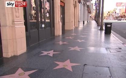 Coronavirus, Hollywood deserta dopo il lockdown in California. VIDEO