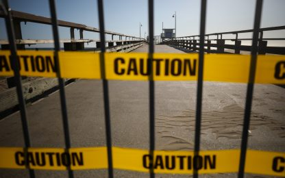 Coronavirus, il lockdown in California. FOTO