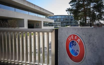 Coronavirus, calcio: le diverse opzioni della Uefa per la ripresa di campionati e coppe