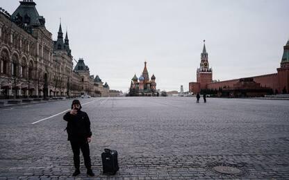 Coronavirus, Russia: il lockdown a Mosca. FOTO