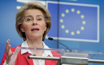 "Coronavirus, Von der Leyen all'Italia: ""Ora l'Europa è con voi"""