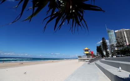 Coronavirus, Australia: chiuse le spiagge della Gold Coast