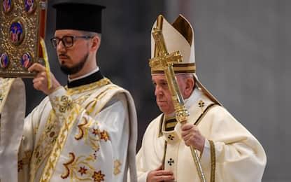Pasqua, la messa di Papa Francesco a San Pietro. FOTO